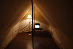 The Fox Wife (tent) (interior view)
