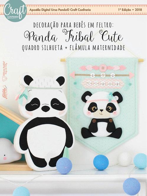Apostila Digital Panda Tribal Cute