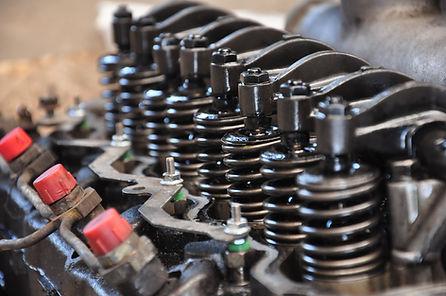Pruebas de motor bloque de presión