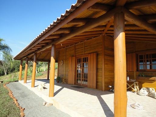 Utilização do eucalipto tratado na construção civil
