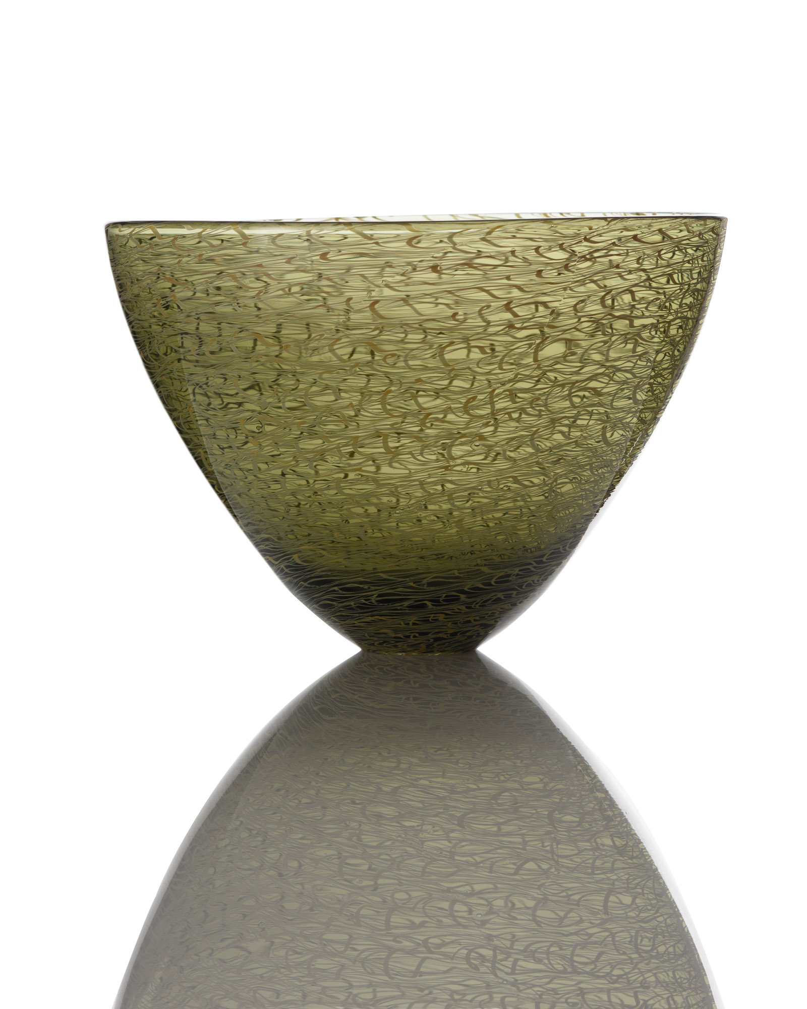 Marea Small Bowl - Bronze_Green