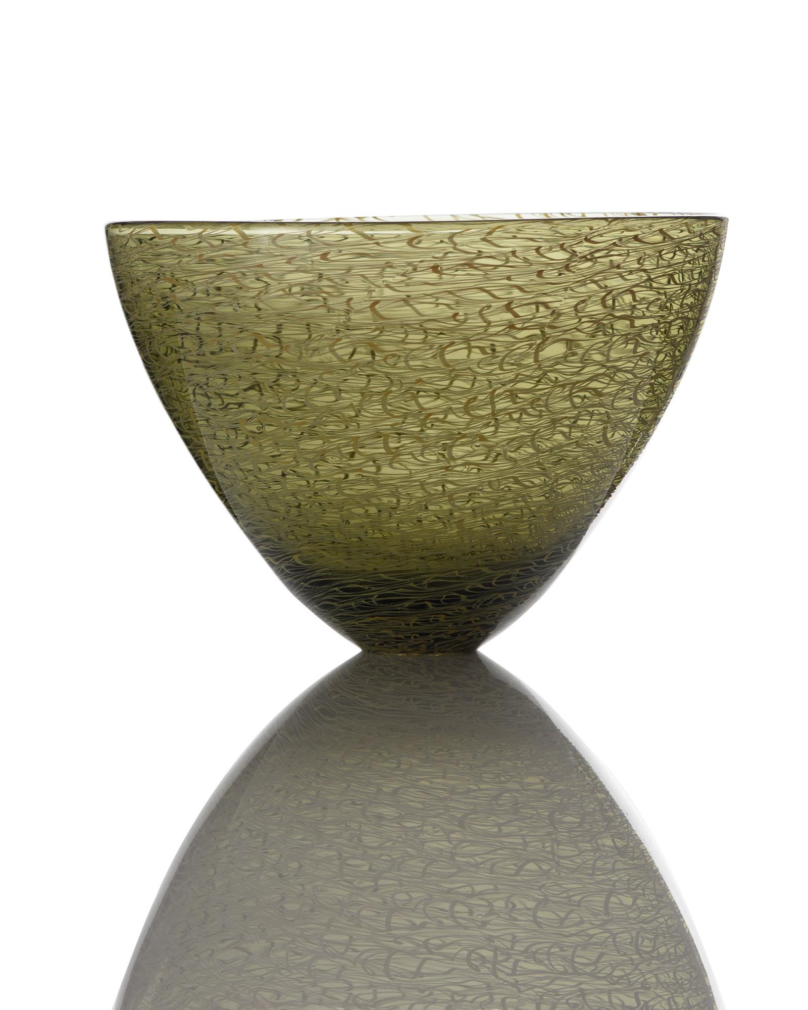 Marea Small Bowl - Bronze_Green