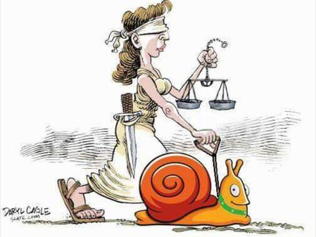 Una justicia lenta no es justa