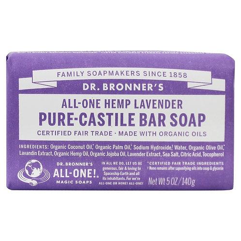 Dr. Bronner's Lavender Bar Soap