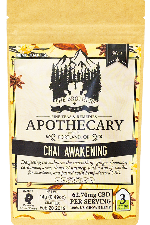 The Brothers Apothecary | Chai Awakening | Hemp Tea