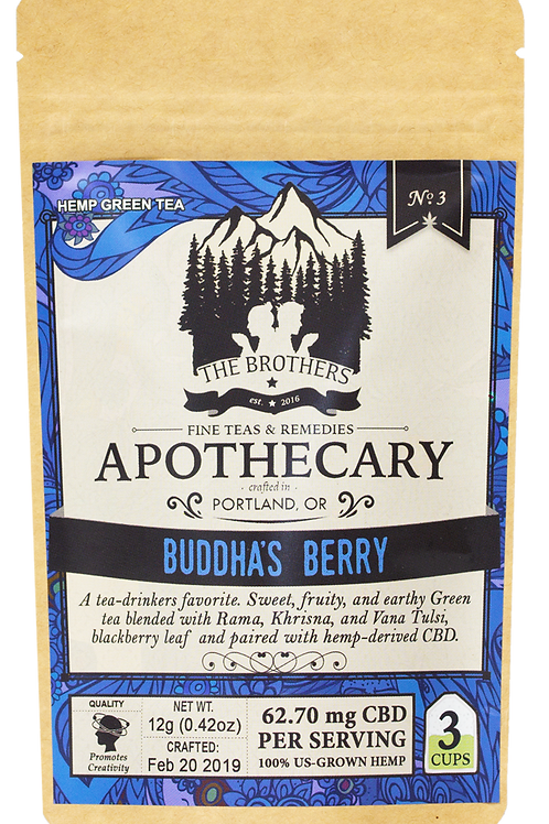 The Brothers Apothecary | Buddha's Berry | Hemp Tea