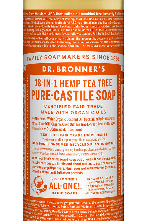 Dr. Donner's Hemp Rose Liquid Soap