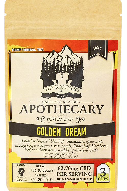 The Brothers Apothecary | Golden Dream | Hemp Tea
