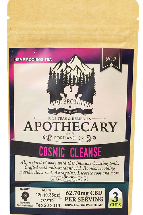 The Brothers Apothecary | Cosmic Cleanse | Hemp Tea