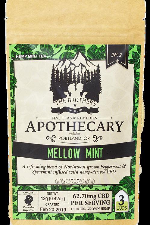 The Brothers Apothecary | Mellow Mint | Hemp Tea