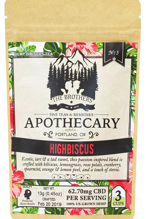 The Brothers Apothecary | Highbiscus | Hemp Tea