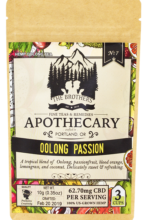 The Brothers Apothecary | Oolong Passion | Hemp Tea