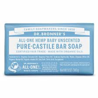 Dr. Bronner's Baby Unscented Soap