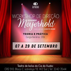 Workshop de Direção Teatral: Segundo Meyerhold