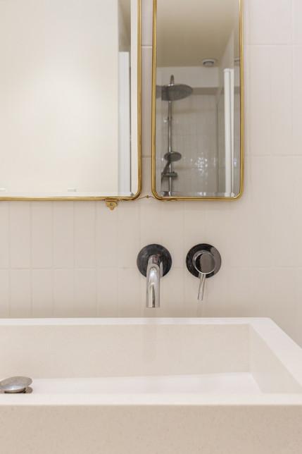Détail salle de bain