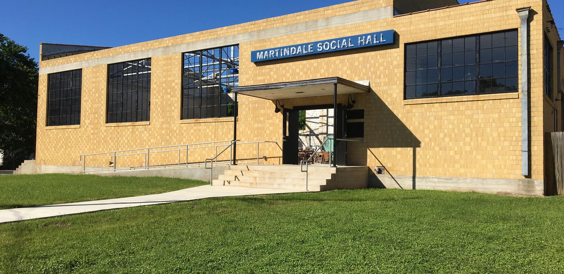 Martindale Social Hall