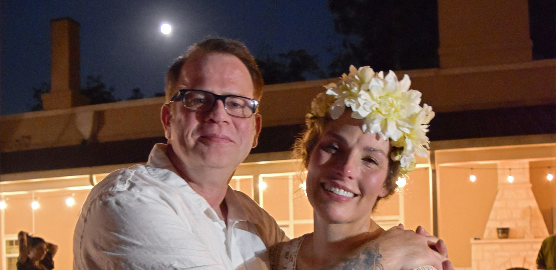 Joy & Saxon's full moon ceremony