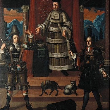 Personification of Medicine, Pharmacy, and Surgery - Nicholas de Larmessin II