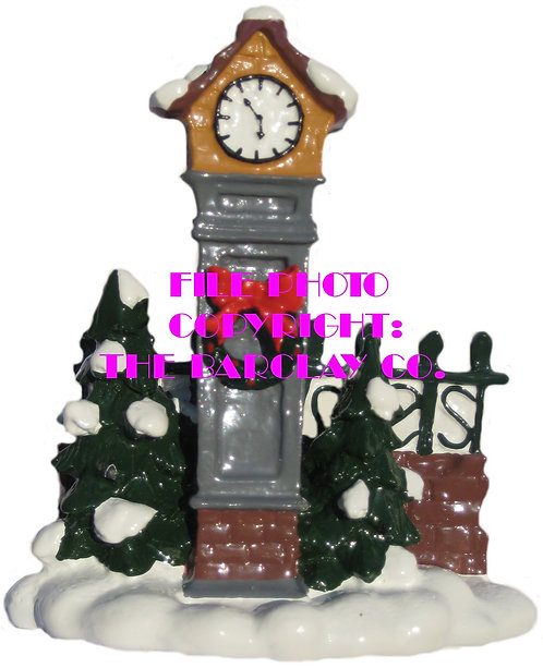 #4146 - Town Square Clock