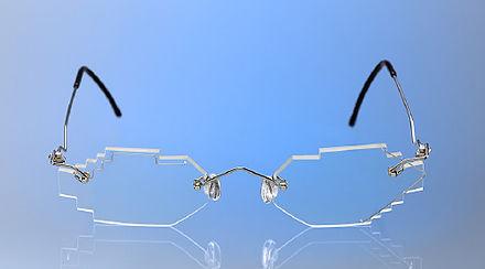 Sonderform Brille