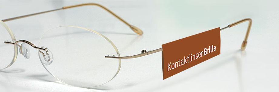 Kontaktlinsenbrille