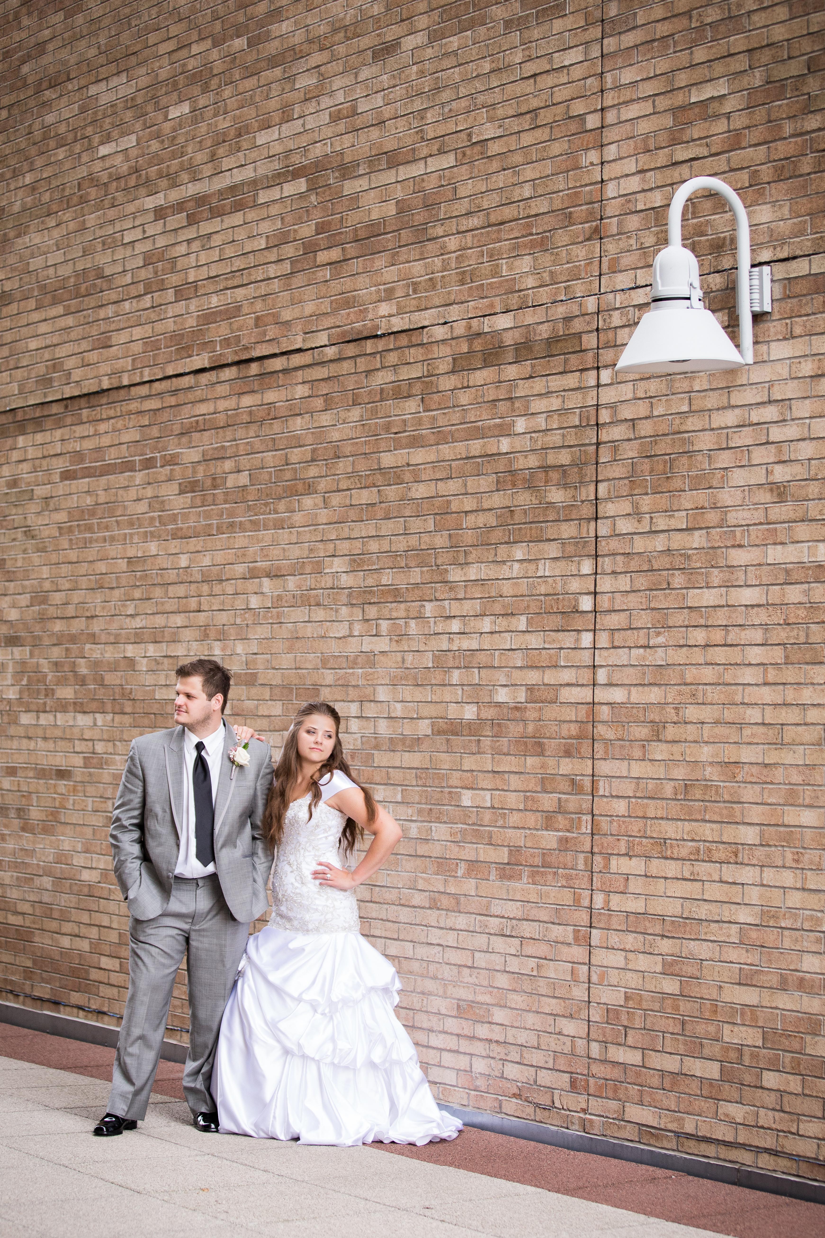 Beautiful wedding day in Minneapolis