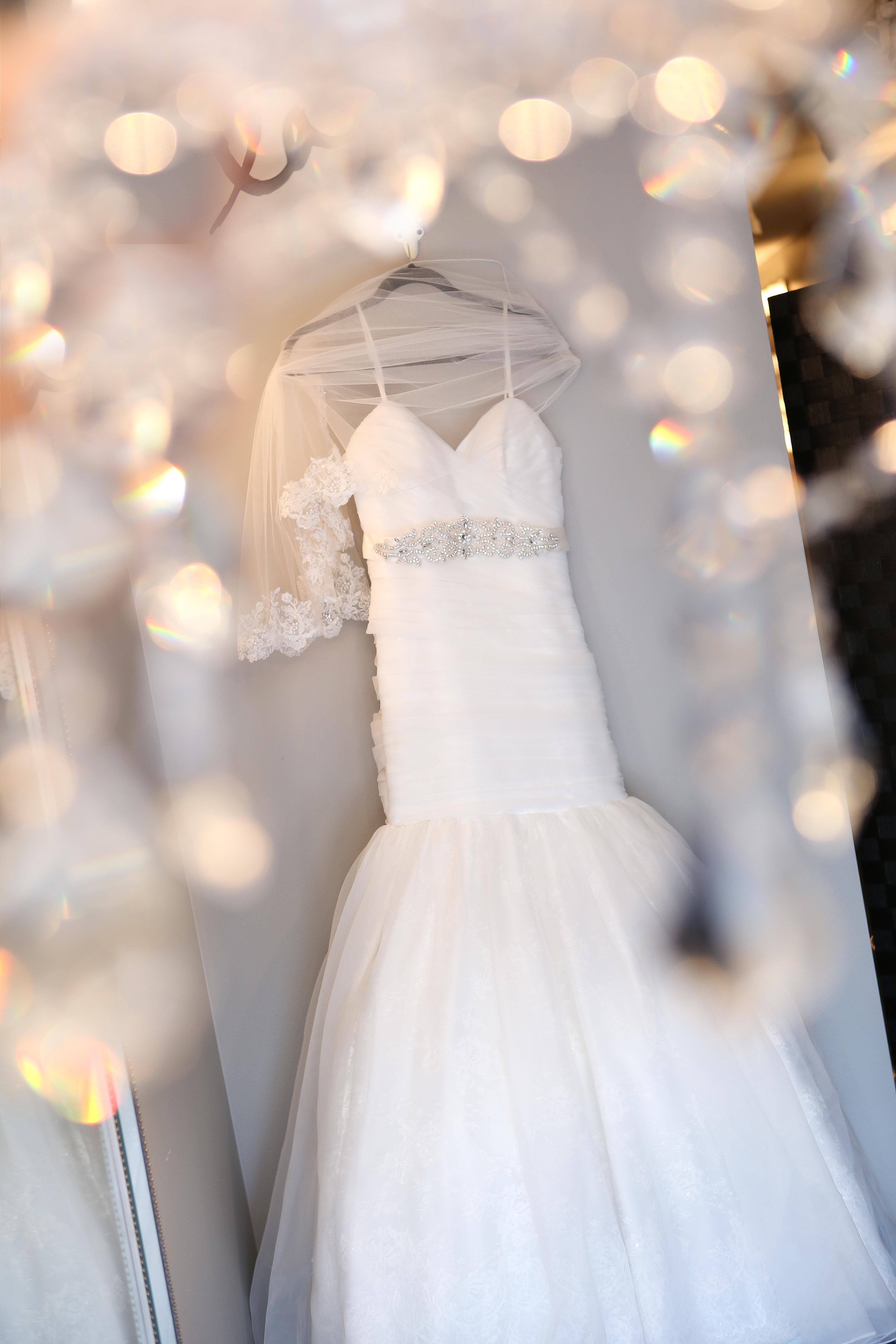 Crystals Wedding dress
