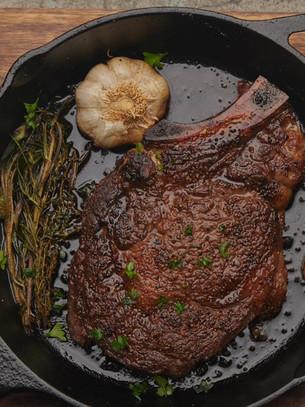 Garlic & Herb Bone-in Ribeye Steak