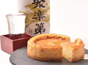 日本酒チーズケーキのデザートタイムはいかが?