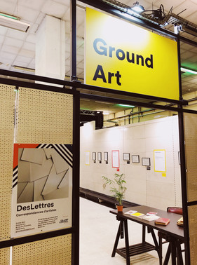 Exposition Des Lettres x Ground Control