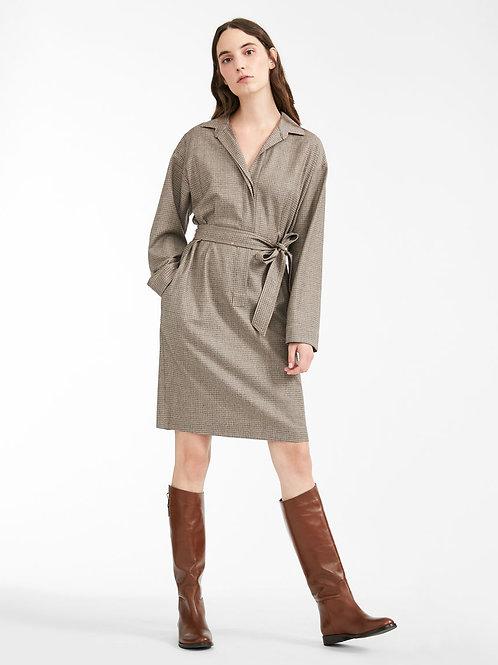 Geruite jurk MM
