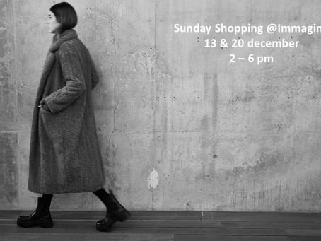 Sunday shopping in December