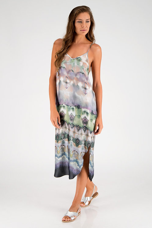 Slip dress Tie & Dye DC