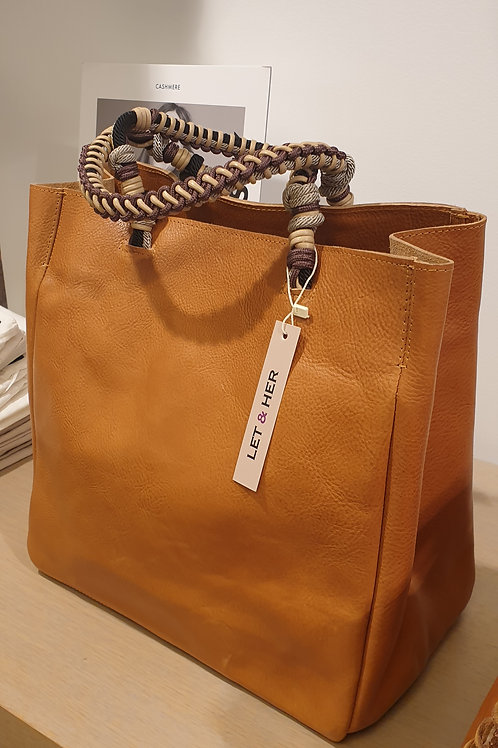 Provence bag knotted strap Let&Her