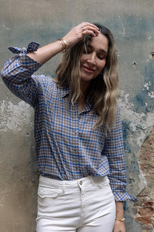 Honorata geruite bloes Xandres
