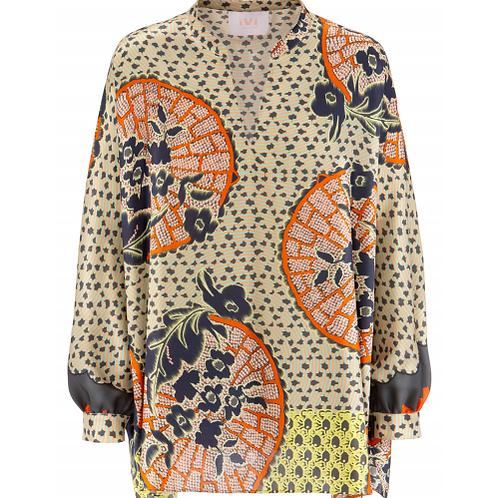 Zen silk blouse IVI