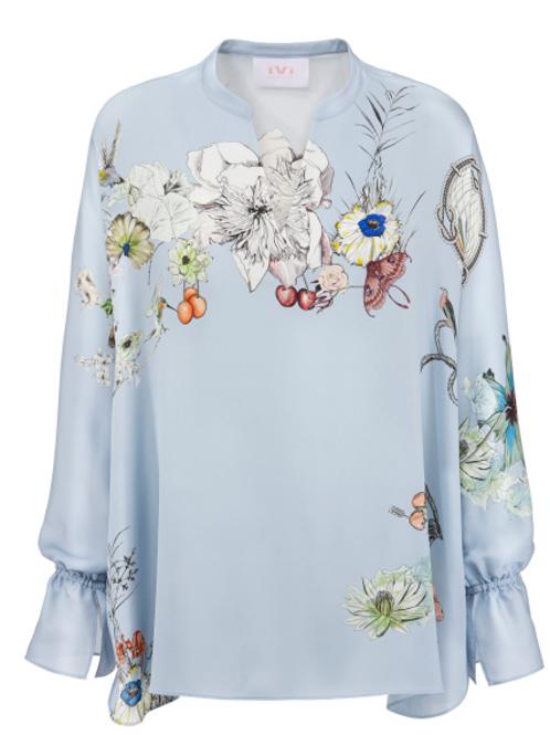 Botanic silk blouse IVI