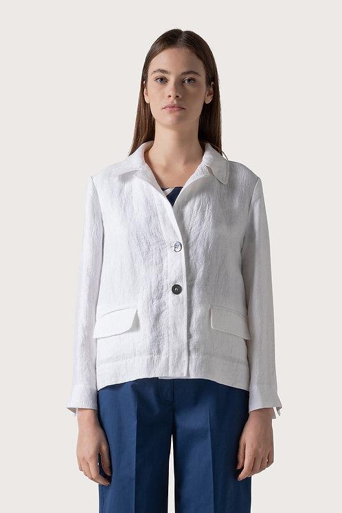 White linen blazer SVTY