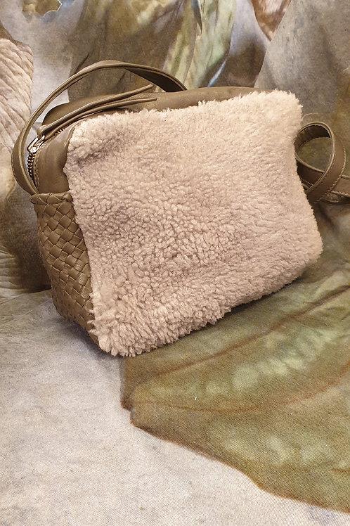 Grey-kaki Zavata Bag