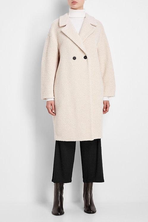Lange vlotte mantel HWL