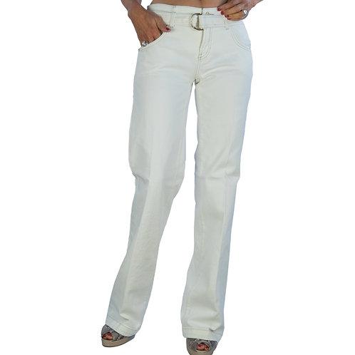 Tess wide leg ecru jeans Cambio