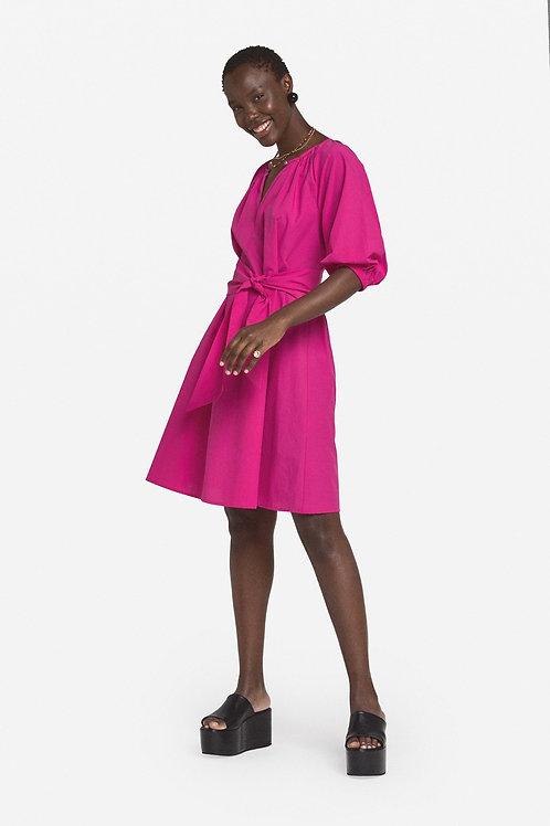 Popeline mini jurk OTD