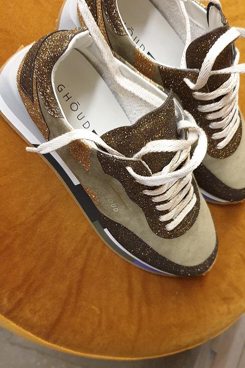 Kaki sneakers Ghoud
