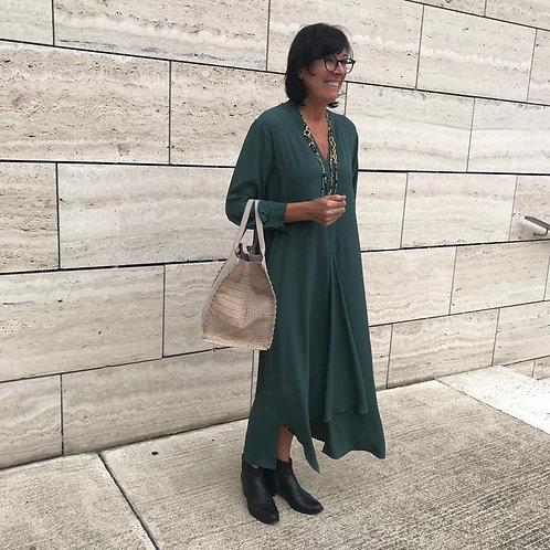 Groene midi jurk MM