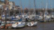 Bridligton Harbour Barrass TV Crews