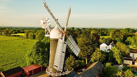 Skidby Mill Flycam UK