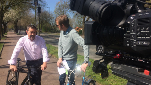 """BBC """"The One Show"""" - Britains Secret Cycleways"""