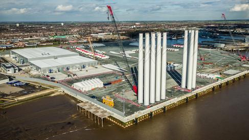 Seimens Wind Turbine Factory Hull