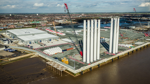 Seimens Wind Turbine Factory Hull
