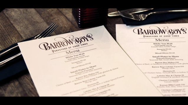 1884 Barrow Boys Promo - Barrass Creative